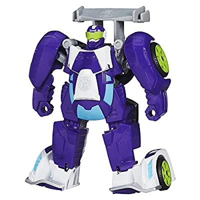 Playskool B1013 Heroes Transformers Rescue Bots Blurr Figure: Toys & Games
