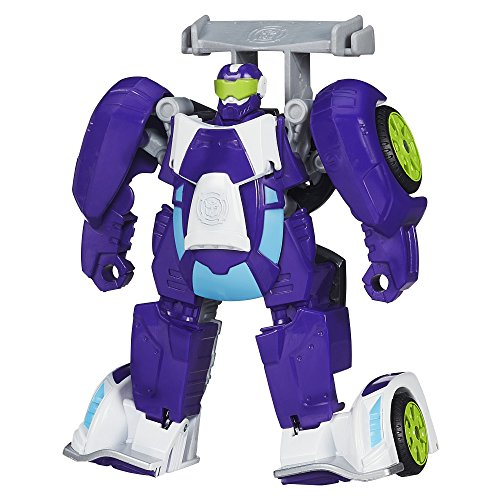 Playskool B1013 Heroes Transformers Rescue Bots Blurr Figure]()