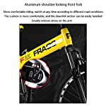Bicicletta-Pieghevole-Bicicletta-Mountain-Bike-26-Pollici-24-velocit-Biciclette-Bicicicletta-MTB-Assorbimento-degli-Urti-Anteriori-Doppio-Freno-A-Disco-Lega-di-Alluminio-TelaioVerde