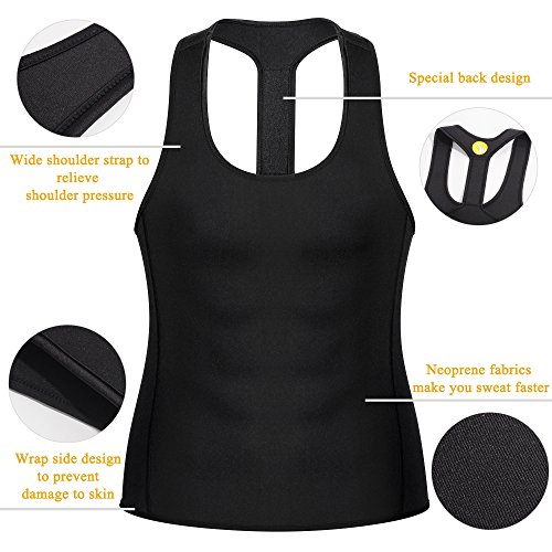 b4e69535d88 Junlan Men Workout Tank Top Vest Gym Shirt Weight Loss Dress - Import It All