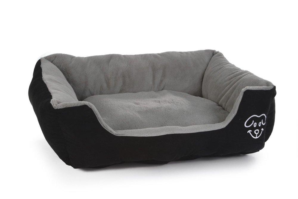 95 x 80 x 25 cm Beeztees Plush Rest Bed Doomba, 95 x 80 x 25 cm