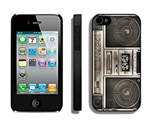 Amazing Classical Phone Cases for Iphone 4 Iphone 4s Black Cover Boombox Designer Popular Mobile Phone Accessories by Maris's Diary