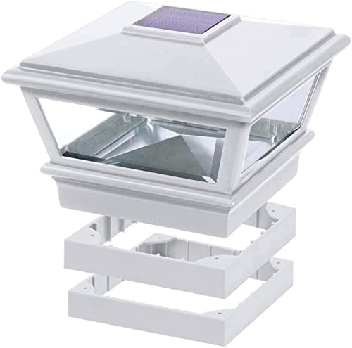 Deckorators Traditional Solar Versacap 6 x 6 – White Deckorators 158388
