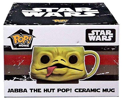 Star Wars Smuggler's Bounty Exclusive Jabba the Hut Funko Pop! Home Ceramic Mug by Pop! Home ()