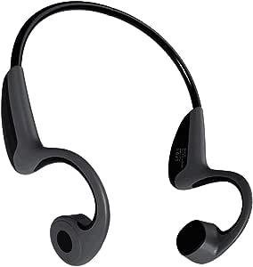 Trcode Bone Conduction Headphones Bluetooth,Open Ear Lightweight Stereo Hands-Free Z8 Sport Bone Conduction Headphones Wireless with Microphone for Listening Music and Running(Black Grey)
