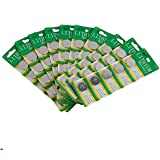 Thinkmax CR2032 Lithium 3V Batteries, 5 on a card (10 Cards - 50 Batteries)