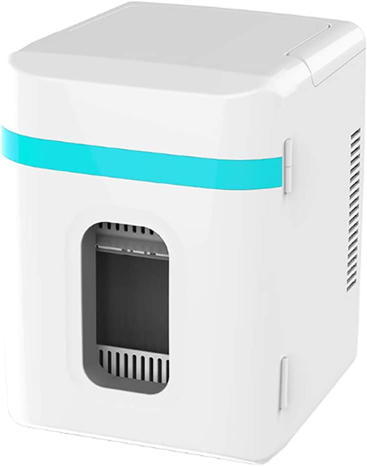 10L Car Refrigerator, Mini Fridge Cooler and Warmer, Car Dual-use CapacityCompact, Portable and Quiet | AC+DC Power Compatibility