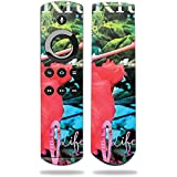 MightySkins Skin for Amazon Fire TV Remote - Trippy Ocean | Protective, Durable, and Unique Vinyl Decal wrap Cover | Easy to Apply, Remove, and Change Styles | Made in The USA
