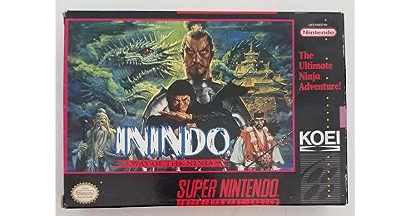 Amazon.com: Inindo - Nintendo Super NES: Video Games