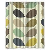"""Orla Kiely Custom Shower Curtain 60"""" x 72"""" Bathroom Decor"""