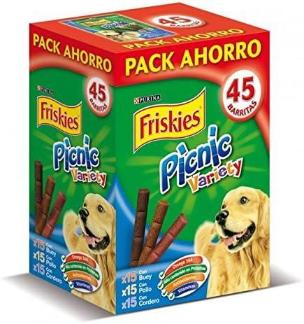 Friskies Picnic Variety Pack 3x15 Snacks Perro 378 g - 378 gr: Amazon.es: Productos para mascotas