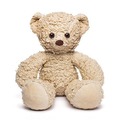 Organic Sherpa (Bears for Humanity Organic Sherpa Bear Plush Animal Toy, White, 16