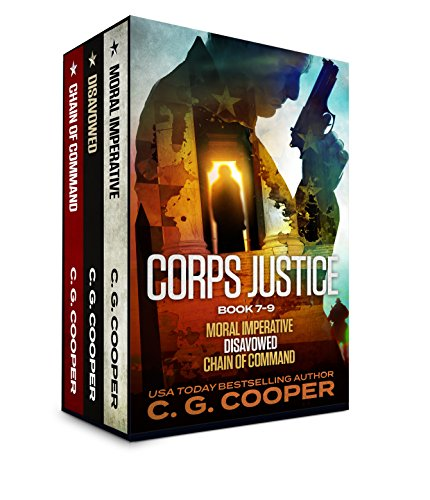 The Corps Justice Series: Books 7-9 (The Corps Justice Series Box Set Book 3)