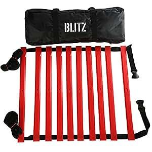 Blitz Speed Agility - Escaleras velocidad de fútbol, color multicolor