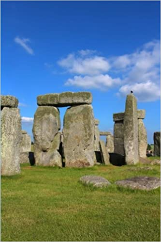 Stonehenge Journal: 150 page lined notebook/diary