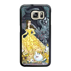 Beauty And The Beast Cover Phone Cover Case For Samsung Galaxy S6 Edge Cell Phone Black CGD186908