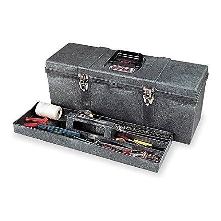 Contico 8260-4 26″ Portable Tool Box, Charcoal...