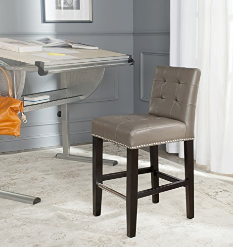 Safavieh Mercer Collection Thompson Clay 25.8-inch Counter Stool