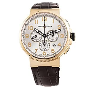 Ulysse Nardin Marine Chronograph automatic-self-wind mens Watch 1506-150/61 (Certified Pre-owned)