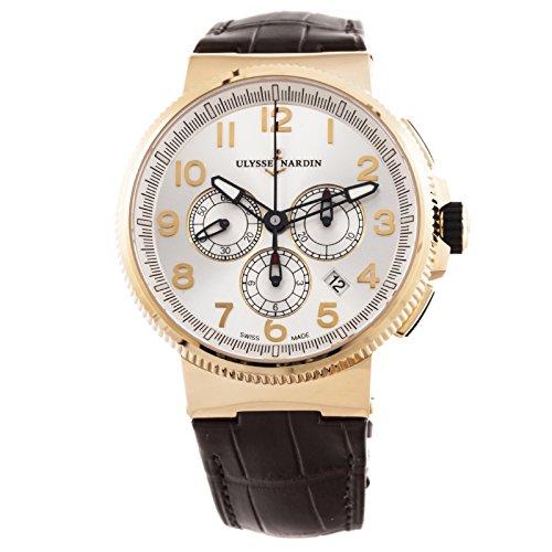 Ulysse-Nardin-Marine-automatic-self-wind-mens-Watch-1506-15061-Certified-Pre-owned