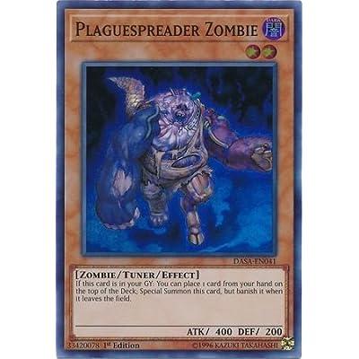 Plaguespreader Zombie - DASA-EN041 - Super Rare - 1st Edition: Toys & Games