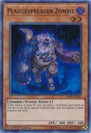 Plaguespreader Zombie - DASA-EN041 - Super Rare - 1st Edition