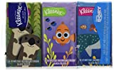 Health & Personal Care : Kleenex On-the-Go Facial Tissues Disney Pixar Finding Dory Designs 10 Tissues 3 Count (Pack of 20)