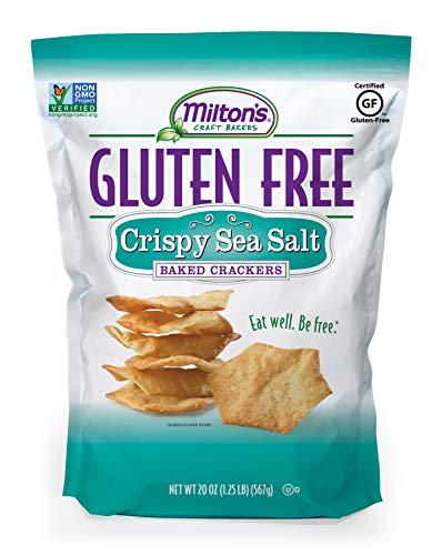 Milton's Gluten Free Crispy Sea Salt Baked Crackers, 1.2 -