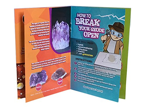 Break Your Own Geodes High Quality Kit 12 Whole Geodes