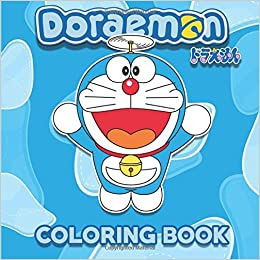 Amazon Doraemon Coloring Book Japanese Art 9781537419855 Fujiko F Fujio Books