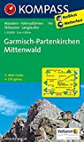 Garmisch-Partenkirchen - Mittenwald: Wanderkarte mit Aktiv Guide, Radrouten, Skitouren und Loipen. GPS-genau. 1:35000 (KOMPASS-Wanderkarten, Band 790)