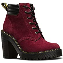 Dr.Martens Womens Persephone 6 Eyelet Nubuck Suede Boots