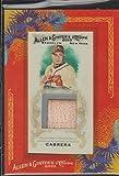 2010 Allen & Ginter's Melky Cabrera Braves Game Used Bat Baseball Card #AGR-MCAB