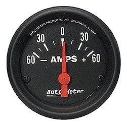 Auto Meter 2644 Z-Series Electric Ammeter Gauge