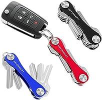 KeySmart Classic | Compact Key Holder and Keychain Organizer (2-14 Keys)