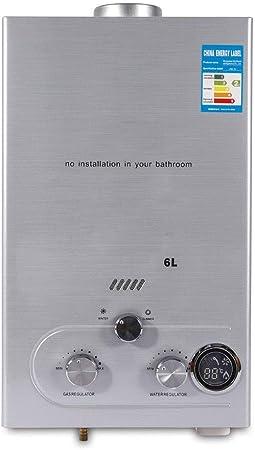 Erdgas Chauffe-eau portable Tankless avec kit de douche