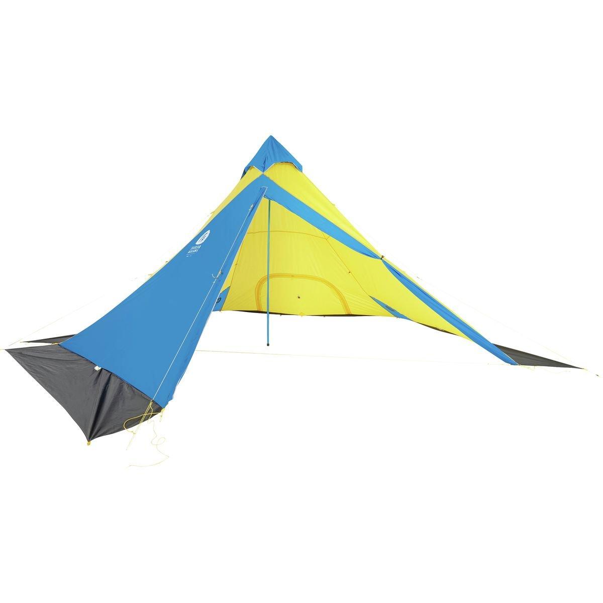 Sierra Designs Mountain Guide Tarp B07CQ4GPDJ  イエロー/ブルー One Size