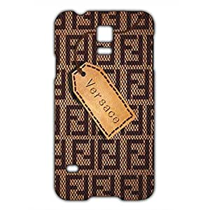Versace Logo Phone Case for Samsung Galaxy S5 Mini 3D Hard Black Plastic Cover