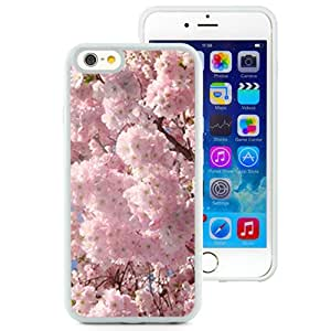 New Custom Designed Cover Case For iPhone 6 4.7 Inch TPU With Cherry Blossoms Flower Mobile Wallpaper 1 (2) Phone Case