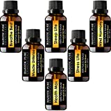 Majestic Pure Aromatherapy Essential Oil Blend Set of top 6 from Pure Therapeutic Grade Oils, 10 ml each, Synergy Blends Include Sleep Lite, Health Max, Breathe Best, Stress-Lite, Muscle Untense, Mind