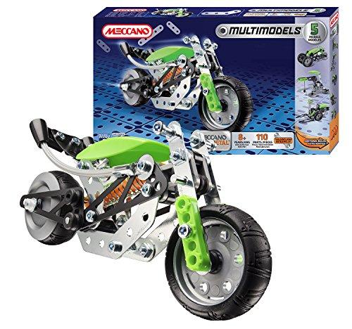 Meccano - 834555 - Jeu De Construction - La Moto - 5 Modèles