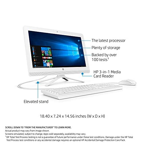 HP-19-inch All-in-One Computer