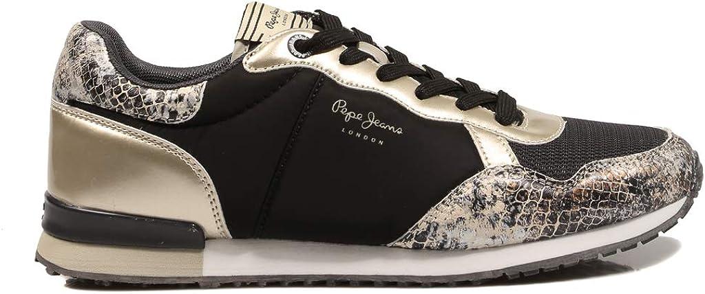 Pepe Jeans Archie Fun Black PLS31100 Chaussures pour femme