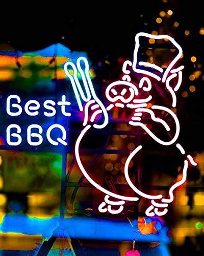 Best BBQ Metal Frame Neon Sign 17