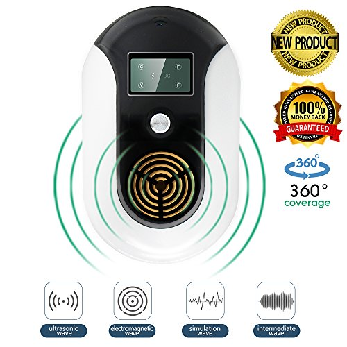 Ssmod Ultrasonic Electromagnetic Pest Repeller Electronic Control Bug Repellent Plug In Indoor Get Rid Of Mosquito Mice Cockroach Ants Housefly Reject Other Insect   Rodent 2018 New Product
