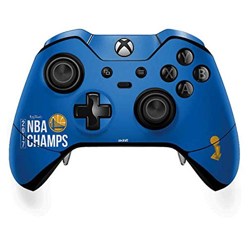 NBA Golden State Warriors Xbox One Elite Controller Skin - Golden State Warriors 2017 NBA Champs Vinyl Decal Skin For Your Xbox One Elite Controller by Skinit
