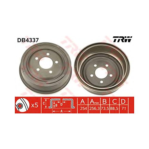 TRW DB4337 Brake Drums: