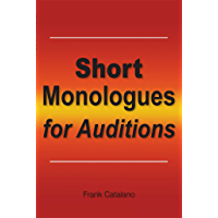 Short Monologues for Auditions book cover
