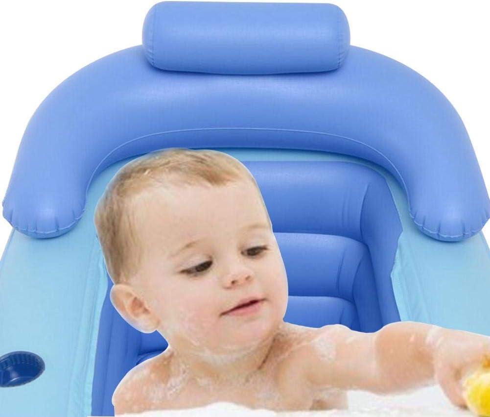 Lievevt PVC Vasca da Bagno Gonfiabile Vasca per Adulti 160 * 84 * 64 Cm Secchio Pieghevole,Vasca da Bagno in Plastica per Adulti Piscina per Bambini