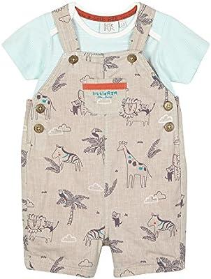 Rjr. Rocha de los niños de Juan Bañador para bebé lino color Beige de peto y de la T-camisa juego de natural Talla:9-12 meses: RJR.John Rocha: Amazon.es: Bebé